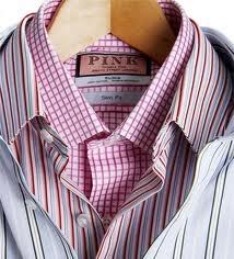 thomas pink shirts