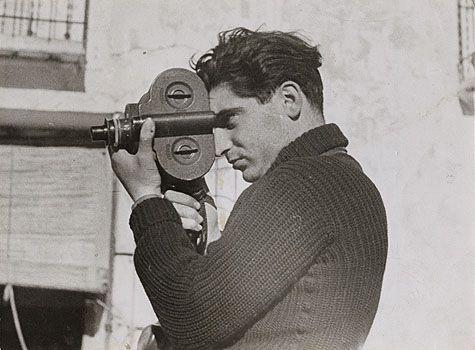 Robert Capa - Photo by Gerda Taro