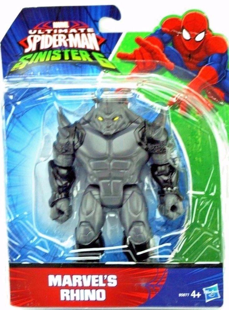 HASBRO MARVEL ULTIMATE SPIDER-MAN SINISTER 6 FIGURE - MARVEL'S RHINO (B5877)