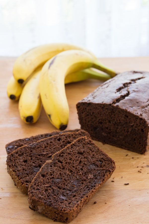 ... the chips and used brown sugar instead. Double Chocolate Banana Bread
