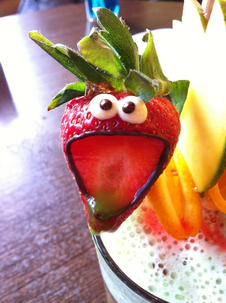 Fruit, with a face!