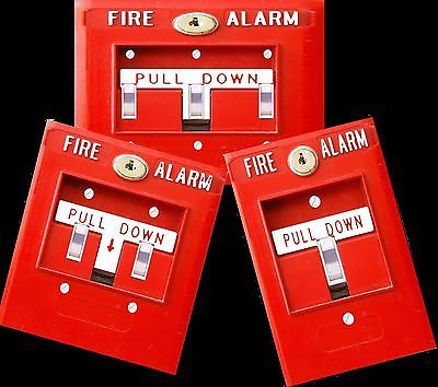 Fire Alarm light switch cover plate, funny man cave, dorm, bedroom decor