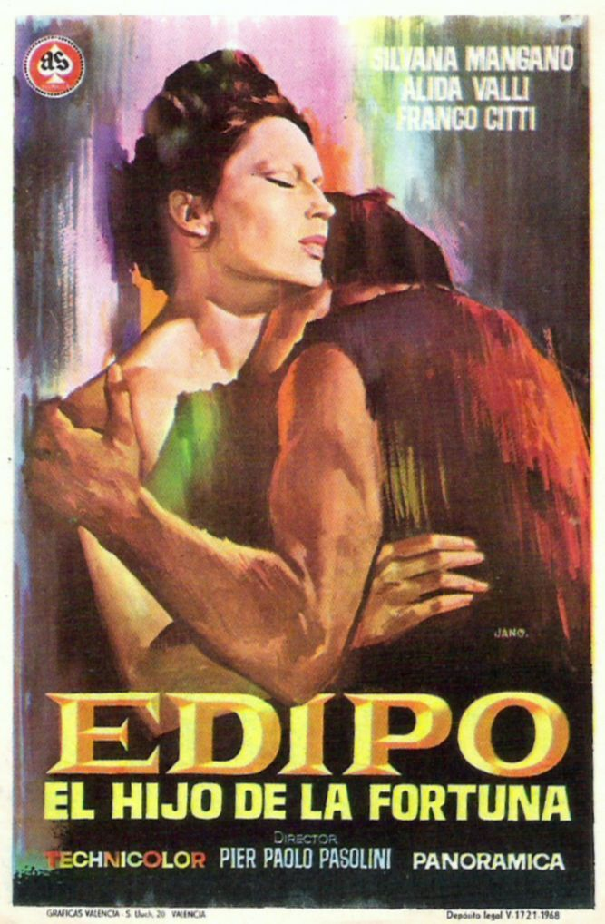 """Edipo re"" (1967). Country: Italy. Director: Pier Paolo Pasolini."