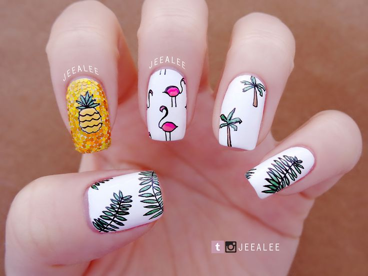 JeeA Lee's Nail Art : Photo