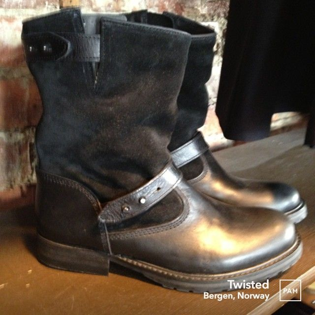 SAMSØE SAMSØE NEW BOOTS FOR AUTUMN DAYS IN THE CITY. #Samsøe Samsøe #Twisted #Boots #Autumn #hybridshopping #bergen