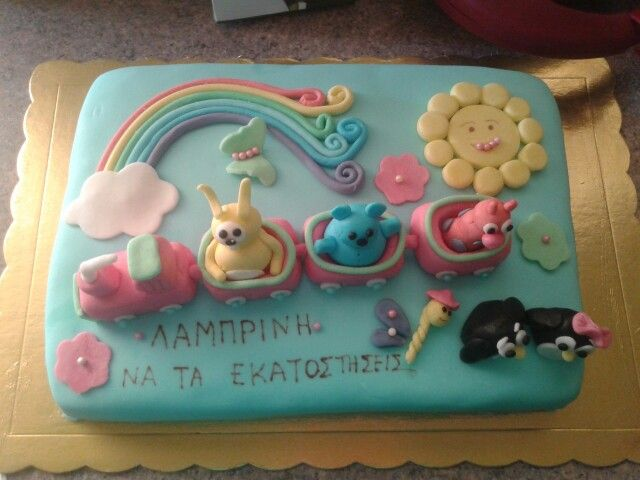 Cute birthday cake!!!