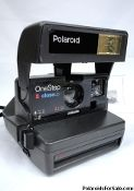One Step Close Up Polaroid 600 Film Camera for sale here! Close-Up Polaroid cameras for sale to Australia , USA , Europe