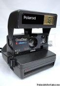 One Step Close Up Polaroid 600 Film Camera for sale here! Close-Up Polaroid cameras for sale to Australia , USA , Europe