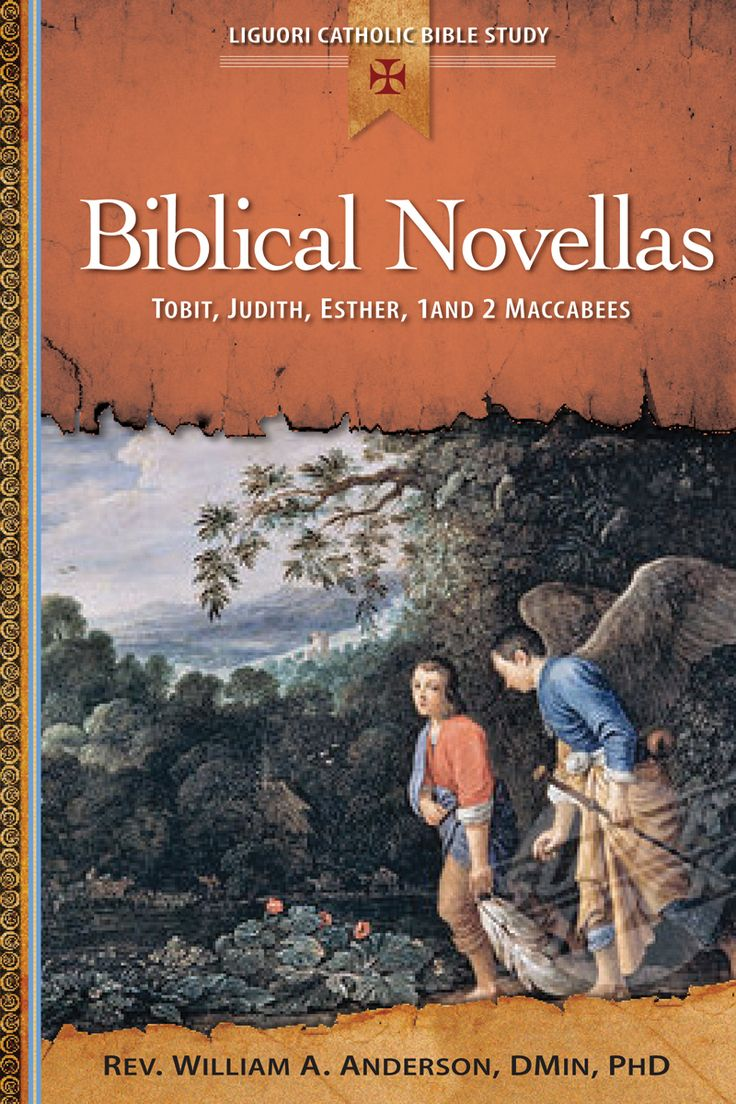 In The Book of Tobit, an Israelite suffers despite his faithfulness. In the Book of Judith, a widow saves the Jewish people from the Assyrian army. 1 & 2 Maccabees aren't in Hebrew or Protestant versions of the Bible, but the Church considers them to be inspired. Learn about all 4 books in BIBLICAL NOVELLAS: TOBIT, JUDITH, ESTHER, 1 AND 2 MACCABEES, the latest in the Liguori Catholic Bible Study series. To sample it, click on the image. Ordering info…
