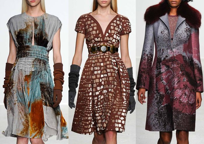 Paris Fashion Week – Autumn/Winter 2014/2015 – Print Highlights – Part 2 catwalks. John Galliano