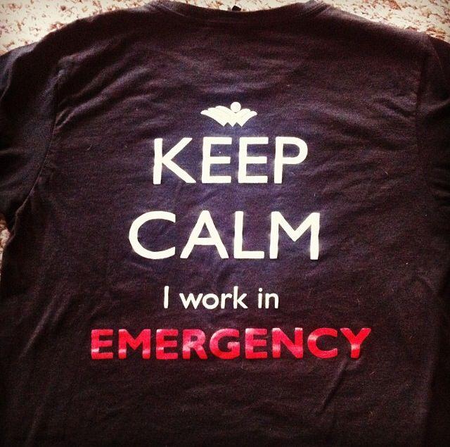 Our shirt for ER nurses week