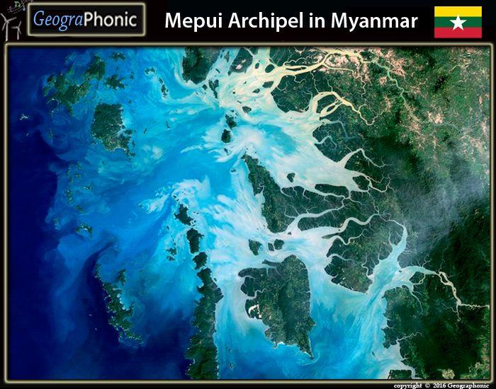 Mepui Archipelago in Myanmar