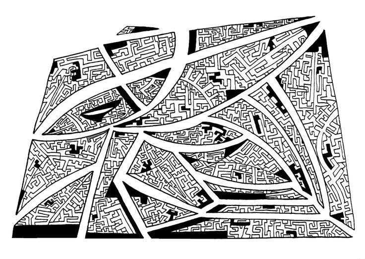 Francois Pretorius - Of Heart & Home 011 (2013) #art #illustration #b&w #design #africa #fineart