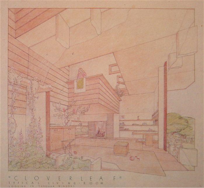 frank lloyd wright drawings pdf