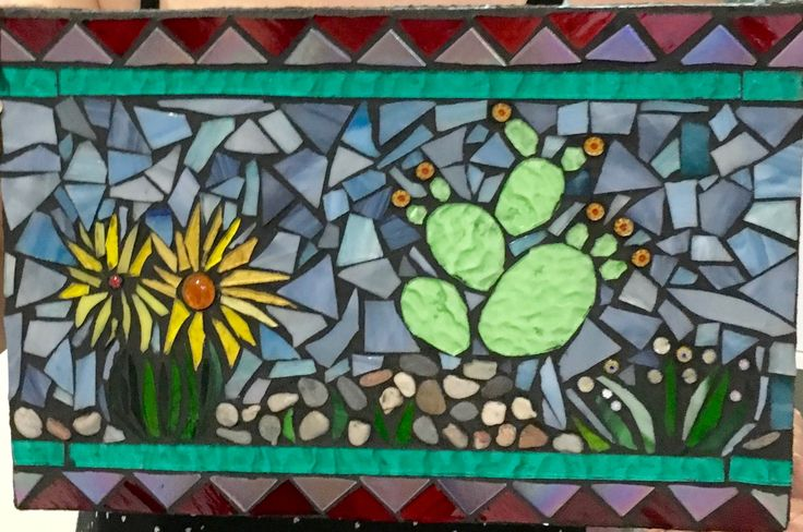 Mosaic lesson by Rozie