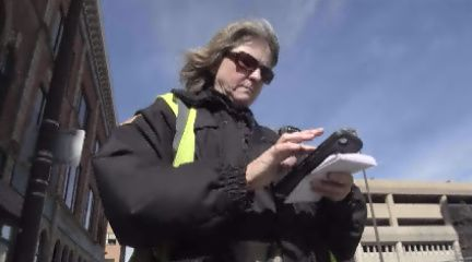 FW parking control officers get new technology | 21Alive: News, Sports, Weather, Fort Wayne WPTA-TV, WISE-TV, and CW | Local