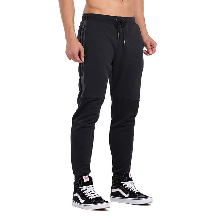 ==> [Free Shipping] Buy Best Men Sports Trousers New Winter Closure Pants Feet Knit Jogging Running Fitness Pants Football Training Wei-pants Online with LOWEST Price | 32770805479