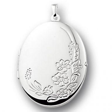 zilveren medailon