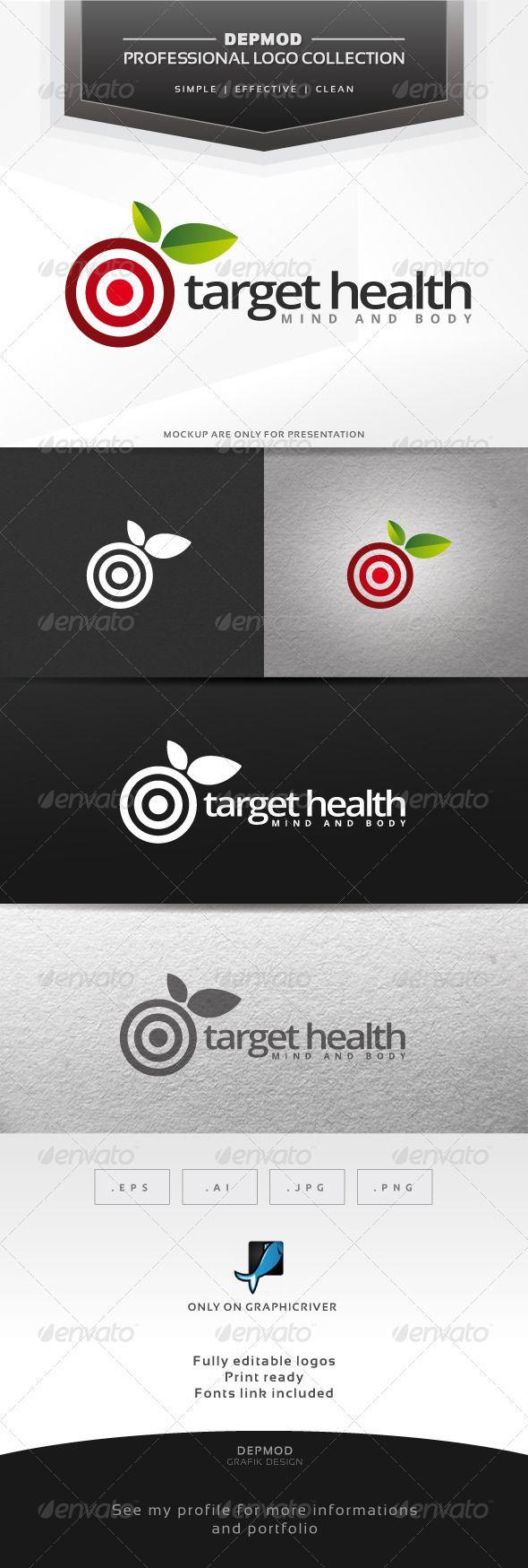 Target Health Logo (Symbols)