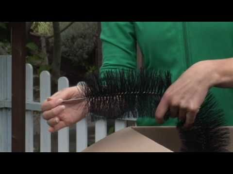 The Amazing Hedgehog Gutter Brush!