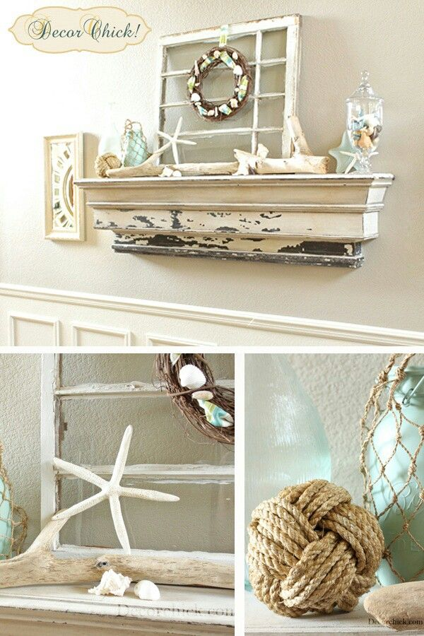 1000 images about hometalk styles coastal cottage on for Summer beach decor