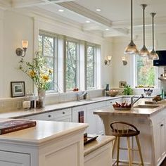 kitchen design without upper cabinets - Google Search ...