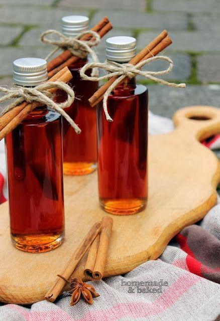 homemade and baked Food-Blog: Kandis-Zimt-Sirup
