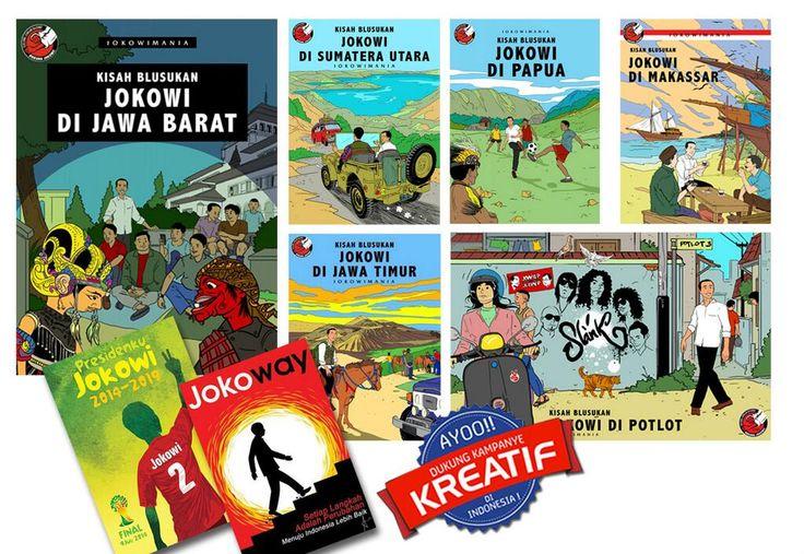 Pinned from the Twitter account of Indonesian President-elect Joko Widodo...or is he really Tintin? He says: Kreativitas manusia adalah sumber daya ekonomi utama,ekonomi kreatif beragam jenisnya harus diberi ruang oleh Negara.