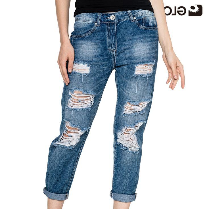 28.83$  Buy here - https://alitems.com/g/1e8d114494b01f4c715516525dc3e8/?i=5&ulp=https%3A%2F%2Fwww.aliexpress.com%2Fitem%2FGLO-STORY-2016-High-Waist-Jeans-Chic-Sport-Hole-Woman-Jeans-Regular-Jeans-Women-Pants-WNK%2F32685616720.html - GLO-STORY 2017 High Waist Jeans Chic Hole Woman Jeans Regular Jeans Women Pants WNK-2114