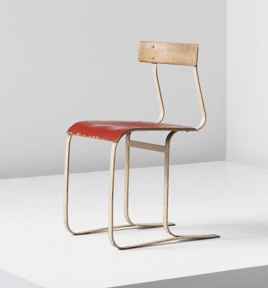 Marcel Breuer: Chair, model no. WB 301, circa 1933-1934.