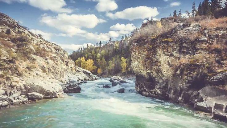 Les montagnes de l'Altaï en time lapse | Video here : http://alexblog.fr/time-lapse-montagnes-altai-49985/
