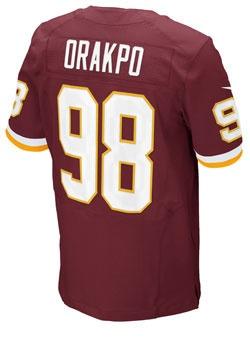 Nike Elite Home Brian Orakpo #Redskins Jersey.
