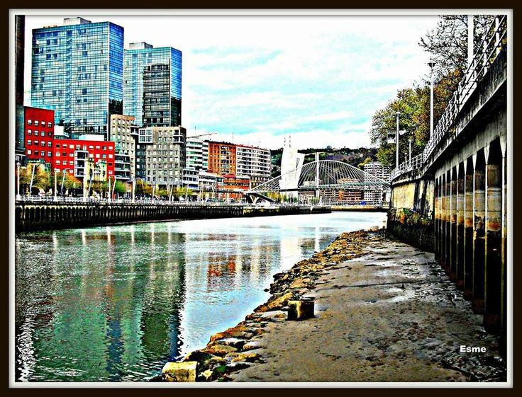My beautiful Bilbao.
