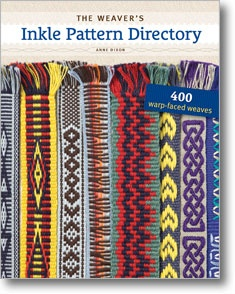 The Weaver's Inkle Pattern Directory: 400 Warp-Faced Weaves by Ann Dixon. This is an amazing book! It has become my Inkle pattern bible! I highly recommend it to weavers from beginners to advanced.