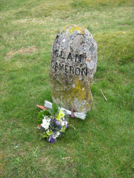 Cameron Grave Marker Culloden - Clan Cameron Interactive Network