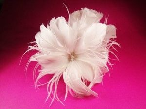 How to Make Flower Hair Clips For Weddings: Cheap and Easy DIY
