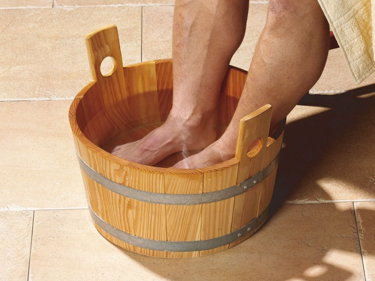Sauna - Footbath Voetenbad