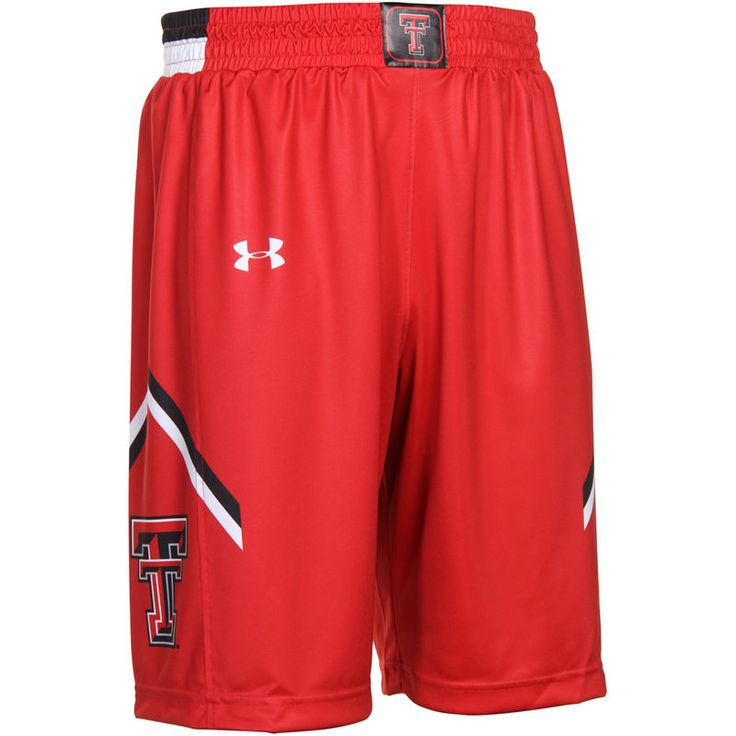 Texas Tech Red Raiders Under Armour Youth Performance Replica Basketball Shorts – Scarlet