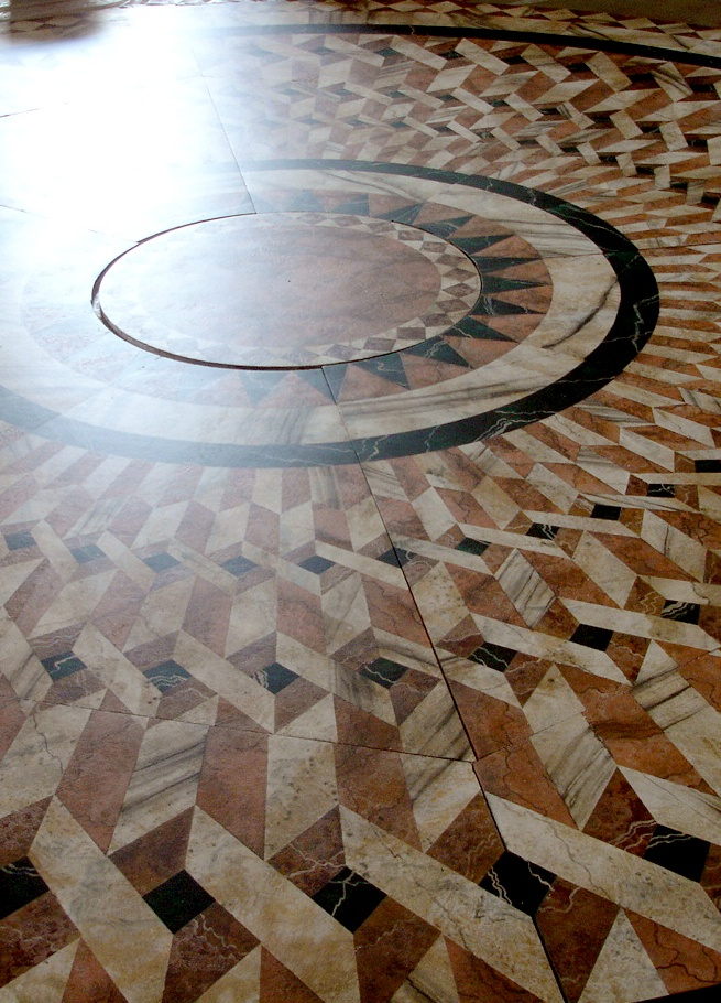"""""""Titus Andronicus"""" Faux marble floor. #set #theatre"""