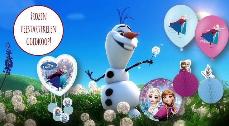 Goedkope Frozen versiering | Feestwinkel Altijd Feest