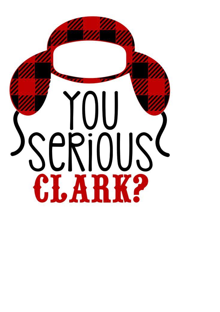 Download YouSeriousClarkPNG | Cricut christmas ideas, Christmas svg ...