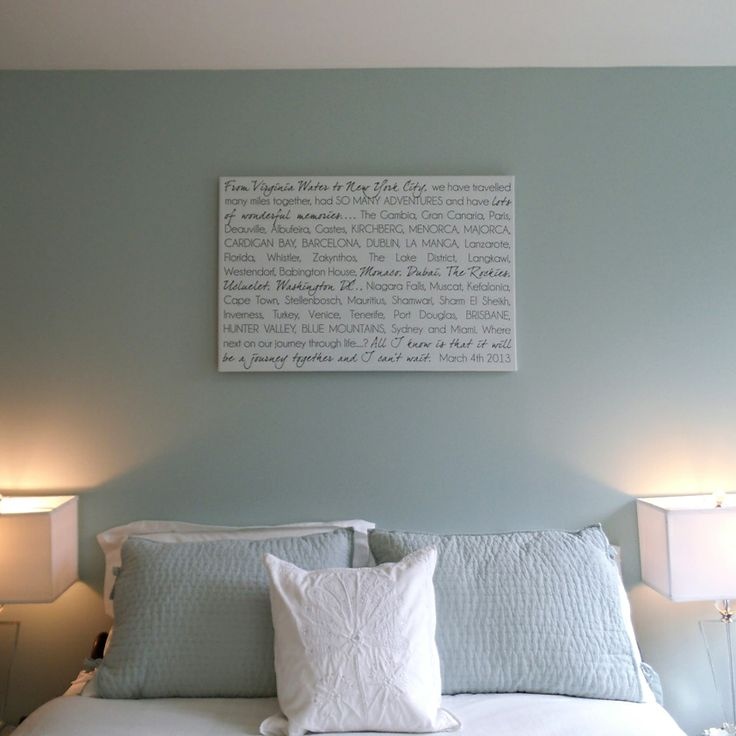 soft bedroom paint colors soft bedroom colors and custom word wall on canvas 17369