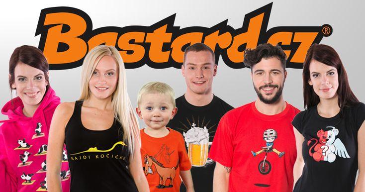 Bastard.cz je jedinečný triko shop, ve kterém najdeš spoustu zajímavých a vtipných motivů na tričkách, mikinách a spodním prádle.
