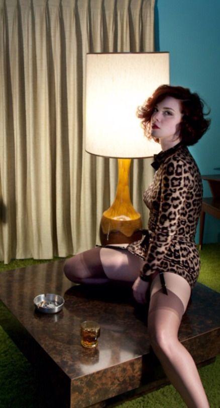 Pantyhose dreams in the motel