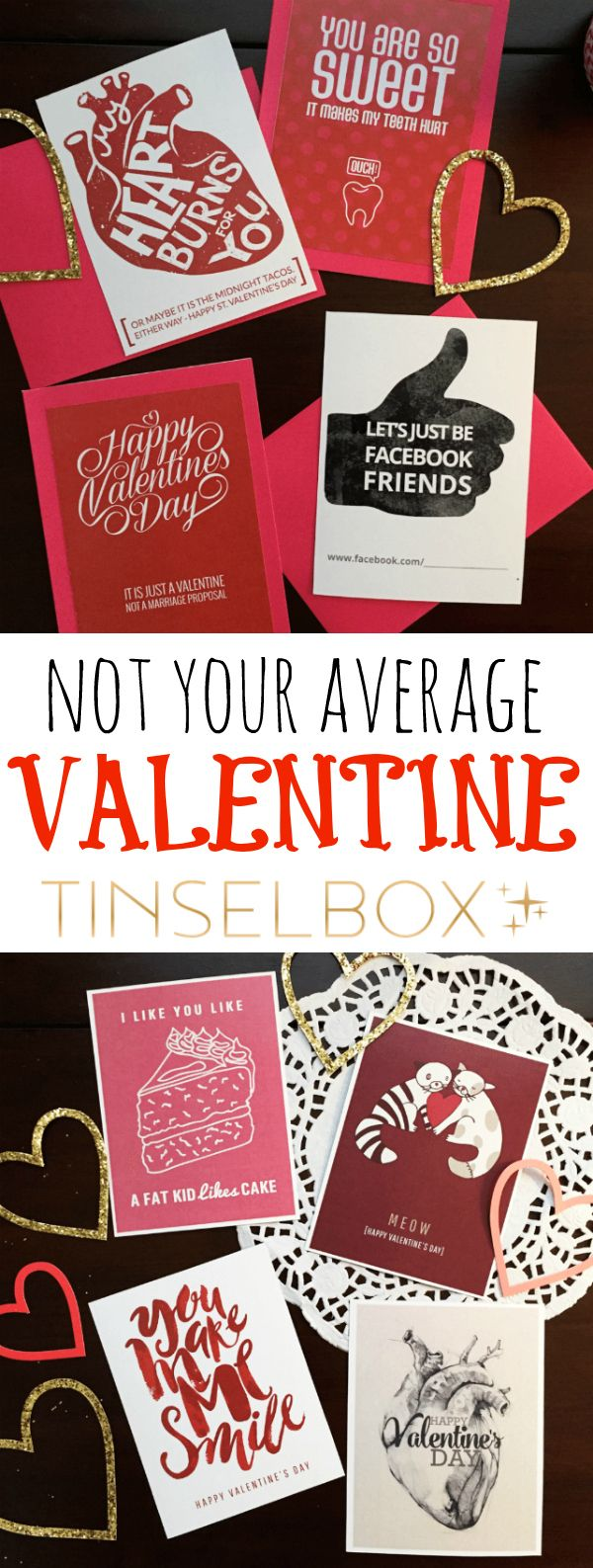 DIY Not Your Average Valentines