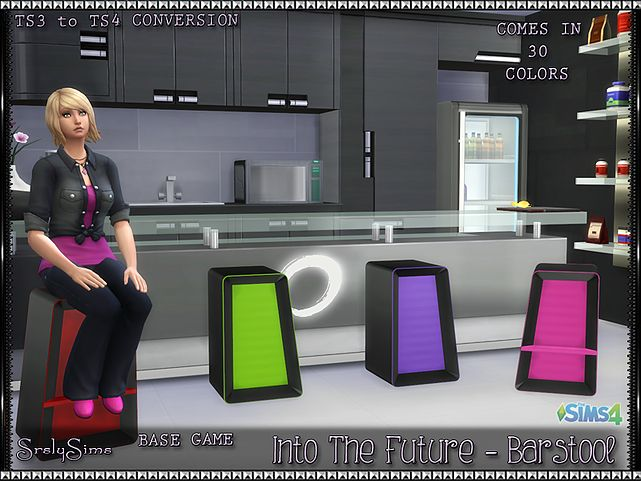 SrslySims | 'Into the Future' Barstool