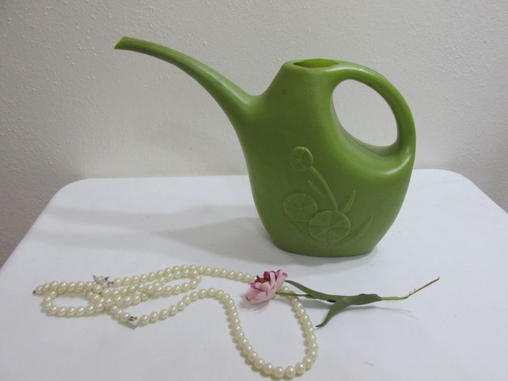 Watering Can House Plant Water Pail by LuRuUniques on Etsy