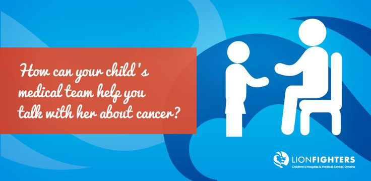 how to tell a child about cancer in a grandparent