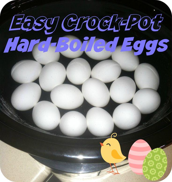 Easy Crock-Pot Hard-Boiled Eggs | West Coast Sisters