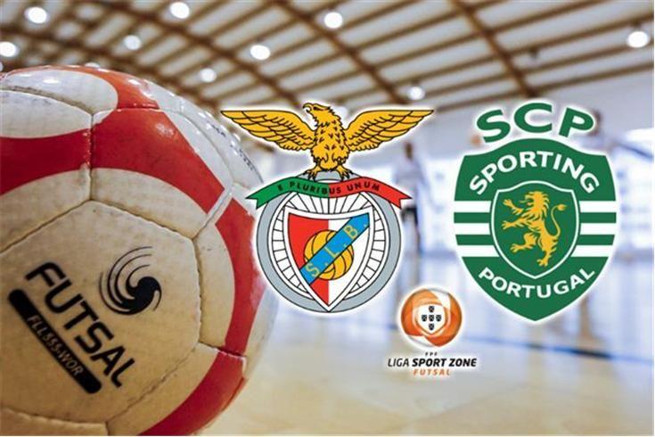 DIRETO FUTSAL   Benfica-Sporting